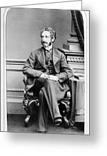 Edward Bulwer Lytton (1803-1873) Greeting Card