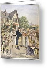 Edward Jenner Carries Out His First Greeting Card