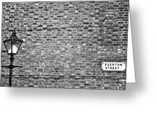 Egerton Street Greeting Card by Georgia Fowler
