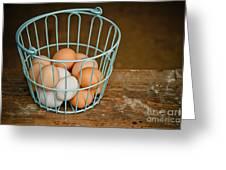 Egg Basket Greeting Card