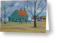 Egg Farm Greeting Card