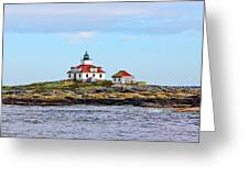 Egg Rock Lighthouse Greeting Card