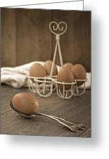 Eggs Greeting Card