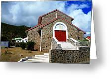 Eglise Catholique De Quartier D'orleans Greeting Card