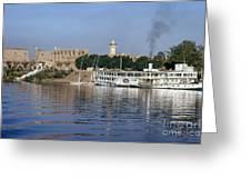 Egypt - Nile Steamboat Greeting Card