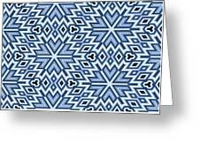 Egyptian Pyramidal Cubes Greeting Card