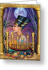 Egyptian Triptych Variant IIi Greeting Card