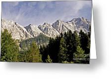 Eibsee Bavaria Germany Greeting Card