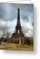 Eifel Tower Greeting Card