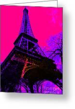 Eiffel 20130115v3 Greeting Card