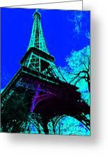 Eiffel 20130115v4 Greeting Card