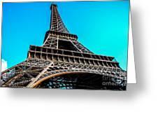 Eiffel In Spring Greeting Card