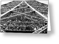 Eiffel Tower Greeting Card by Andrea Anderegg