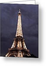 Eiffel Tower-1 Greeting Card