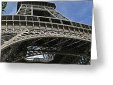 Eiffel Tower First Balcony Greeting Card
