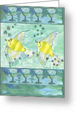 Eight Of Cups Greeting Card