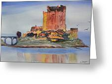 Eilean Donan Castle  Dornie Inverness Shire Scotland Greeting Card