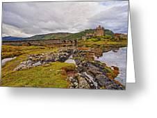 Eilean Donan Castle Dornie Greeting Card