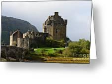 Eilean Donan Castle In Kyle Of Lochalsh Greeting Card