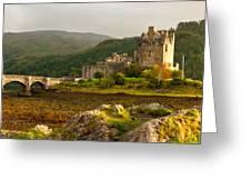 Eilean Donan Castle Scotland Greeting Card