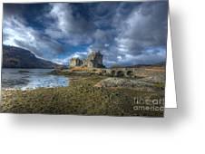 Eilean Donan Castle Scotland Greeting Card by John Kelly