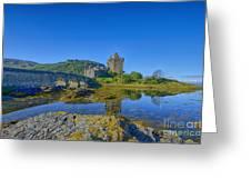 Eilean Donan Reflections Greeting Card