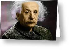Einstein Explanation Greeting Card