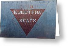 Ejection Seats Greeting Card