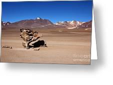 El Arbol De Piedra Bolivia Greeting Card