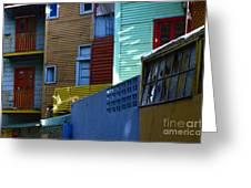 El Caminito La Boca Buenos Aires 2 Greeting Card