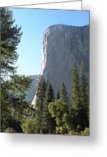 El Cap Greeting Card