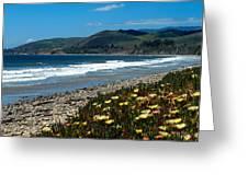 El Capitan Beach Greeting Card by Kathy Yates