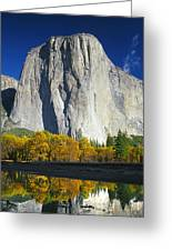 2m6516-el Capitan Reflect Greeting Card