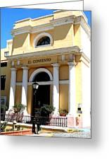 El Convento Hotel Greeting Card