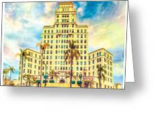 El Cortez Greeting Card
