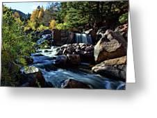 El Dorado Falls Greeting Card
