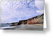 El Golfo On Lanzarote Greeting Card