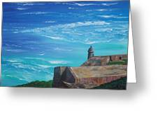 El Morro II Greeting Card