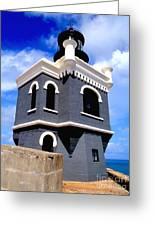 El Morro Lighthouse Greeting Card