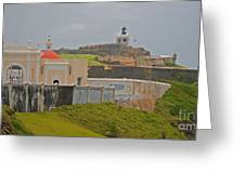 Scenic El Morro Greeting Card