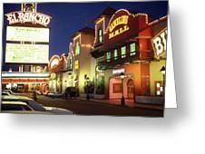 El Rancho Vintage Vegas Greeting Card