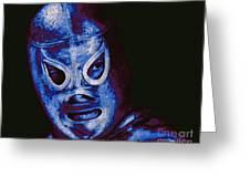 El Santo The Masked Wrestler 20130218m168 Greeting Card