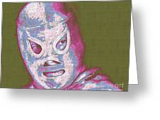 El Santo The Masked Wrestler 20130218v2m168 Greeting Card