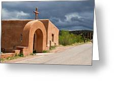 El Santuario De Chimayo Cross Greeting Card