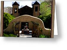 El Santuario De Chimayo Greeting Card