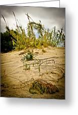 Elafonisi Grass Greeting Card
