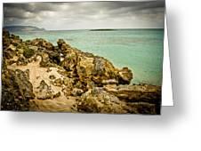 Elafonisi Island Greeting Card