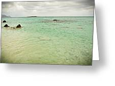 Elafonisi Sea View Greeting Card