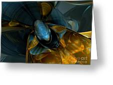 Elated Abstract Greeting Card