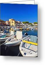 Elba Island - Marina Di Campo Greeting Card